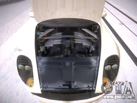 Aston Martn DB9 2008 pour GTA San Andreas vue intérieure