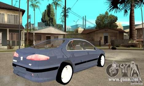 Peugeot 607 für GTA San Andreas rechten Ansicht