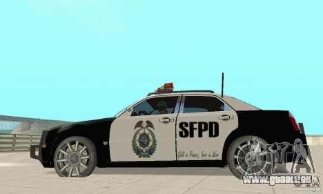 Chrysler 300C Police v2.0 pour GTA San Andreas laissé vue