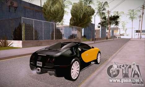 Bugatti Veyron 16.4 EB 2006 für GTA San Andreas rechten Ansicht