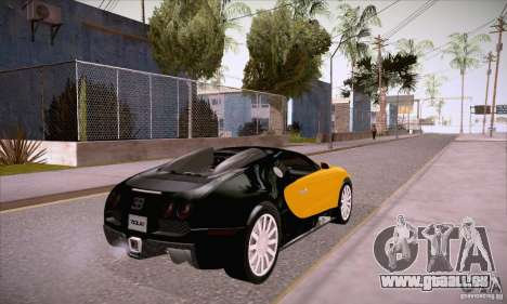 Bugatti Veyron 16.4 EB 2006 pour GTA San Andreas vue de droite