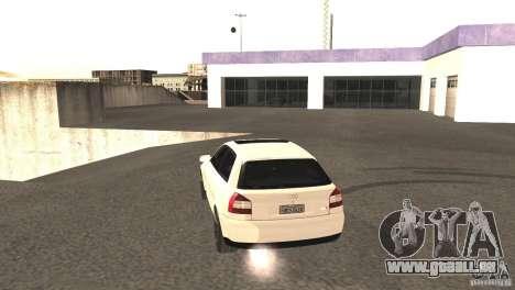 Audi A3 1.8T 180cv für GTA San Andreas Rückansicht