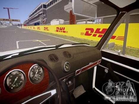VAZ 2106 v1.0 pour GTA 4 est une vue de l'intérieur