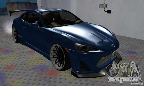 Subaru BRZ JDM pour GTA San Andreas