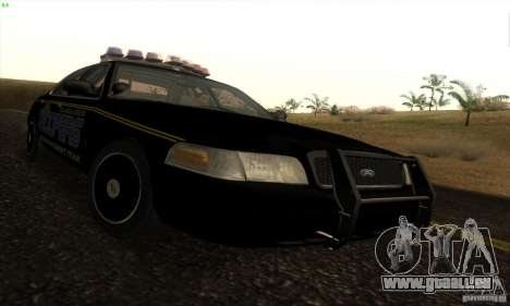 Ford Crown Victoria Alaska Police pour GTA San Andreas