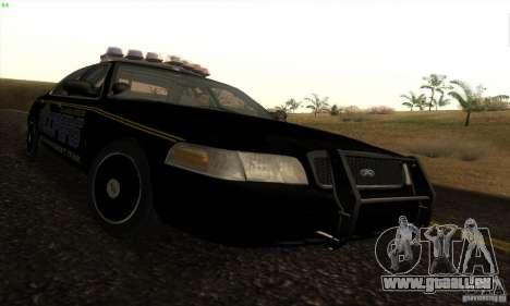 Ford Crown Victoria Alaska Police pour GTA San Andreas