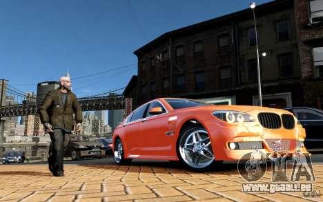 Menü- und Boot-Bildschirme BMW HAMANN in GTA 4 für GTA San Andreas siebten Screenshot