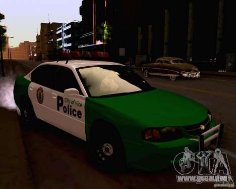 Chevrolet Impala 2003 VCPD police pour GTA San Andreas