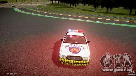 Ford Crown Victoria Karachi Traffic Police für GTA 4 Innenansicht