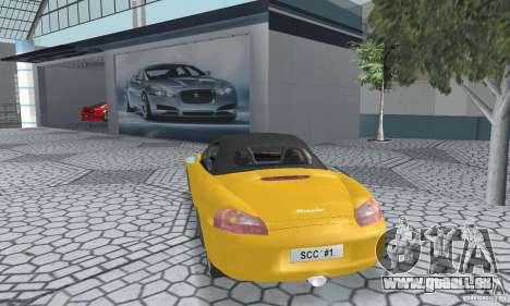 Porsche Boxster für GTA San Andreas linke Ansicht
