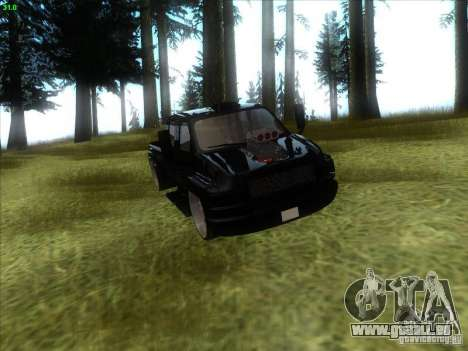GMC C4500 Pickup DUB Style für GTA San Andreas Innenansicht