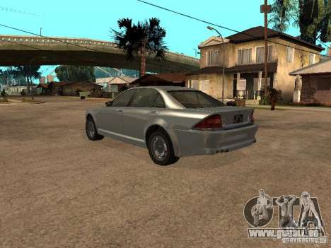 Schafter de Gta 4 pour GTA San Andreas laissé vue