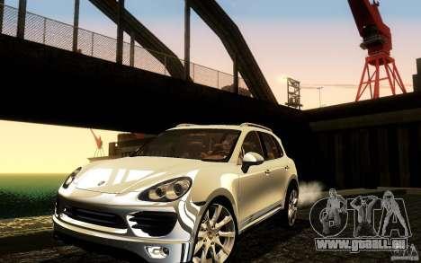 Porsche Cayenne 958 2010 V1.0 pour GTA San Andreas vue de dessous