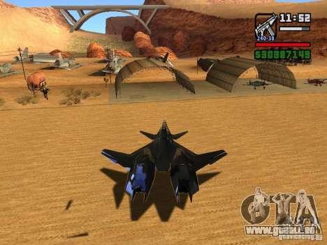 ADF01 Falken für GTA San Andreas rechten Ansicht