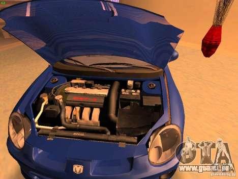 Dodge Neon SRT4 2006 pour GTA San Andreas vue de droite