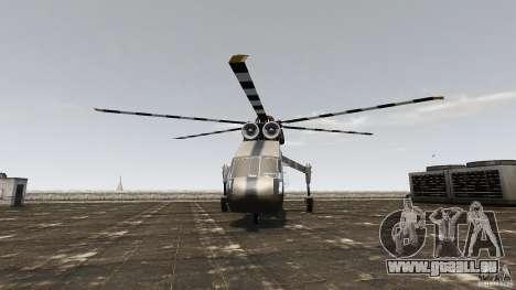 SkyLift Helicopter für GTA 4 rechte Ansicht