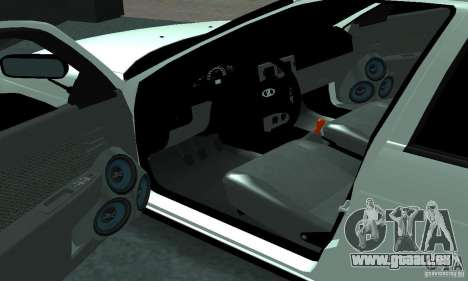 Lada Priora Sport pour GTA San Andreas vue de droite