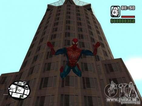Spider Man From Movie für GTA San Andreas