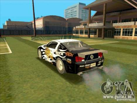 Ford Mustang Drag King from NFS Pro Street pour GTA San Andreas laissé vue