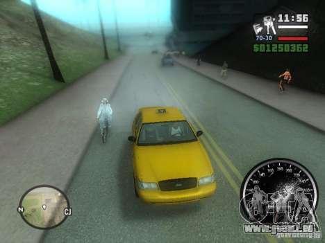 Pluie verglaçante pour GTA San Andreas