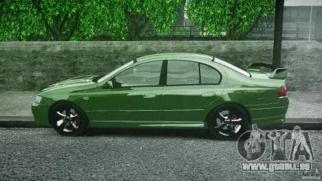 Ford Falcon XR8 2007 Rim 1 für GTA 4 Innenansicht