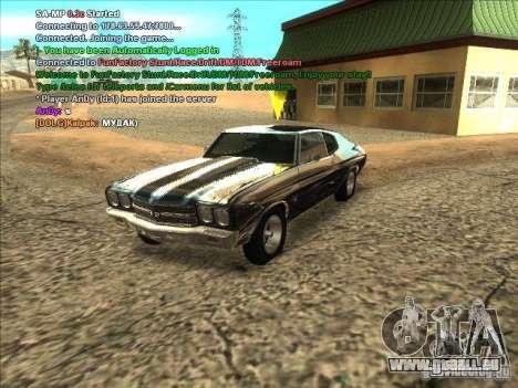 ENB séries pour carte vidéo faible pour GTA San Andreas sixième écran