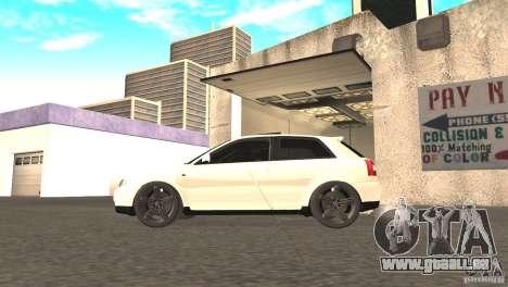 Audi A3 1.8T 180cv für GTA San Andreas rechten Ansicht