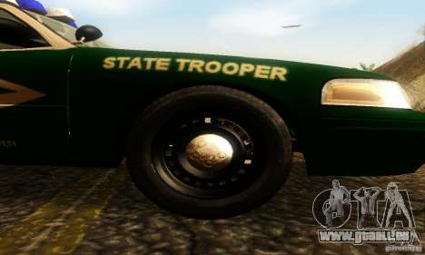 Ford Crown Victoria New Hampshire Police für GTA San Andreas rechten Ansicht