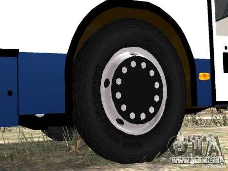 NefAZ-5299 10-15 für GTA 4 Räder