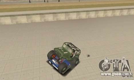 Jeep Willys Rock Crawler pour GTA San Andreas