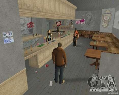 Nouvelles textures, des restaurants et des bouti pour GTA San Andreas