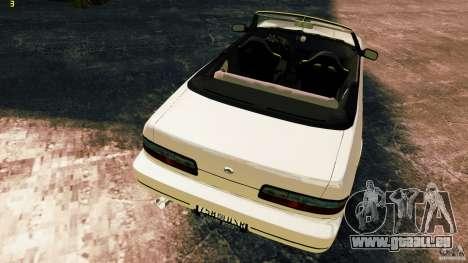 Nissan Silvia S13 Cabrio pour GTA 4 est une vue de l'intérieur