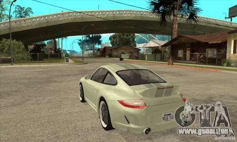 Porsche 911 Sport Classic pour GTA San Andreas sur la vue arrière gauche