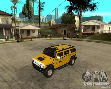 AMG H2 HUMMER TAXI pour GTA San Andreas