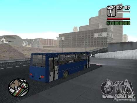 Ikarus 260.51 pour GTA San Andreas vue de droite