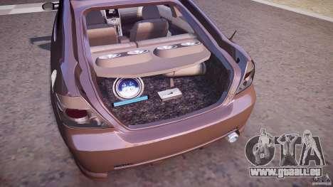 Toyota Scion TC 2.4 Tuning Edition für GTA 4 Unteransicht