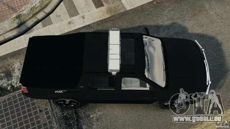 Chevrolet Avalanche 2007 [ELS] für GTA 4 rechte Ansicht