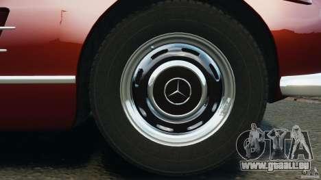 Mercedes-Benz 300 SL Roadster v1.0 pour GTA 4 est une vue de dessous