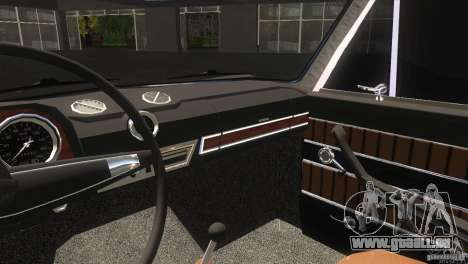 2103 Vaz pour GTA San Andreas vue intérieure