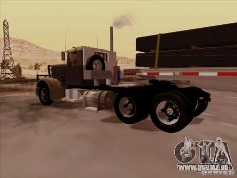 Peterbilt 351 pour GTA San Andreas vue de droite