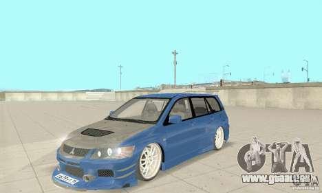 Mitsubishi Lancer Evolution IX Wagon MR Drift pour GTA San Andreas