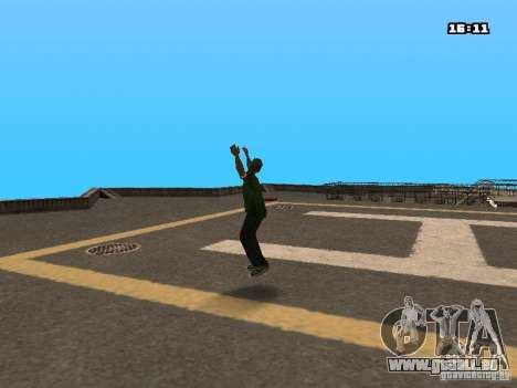 Parkour Mod für GTA San Andreas zweiten Screenshot