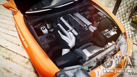 Toyota Supra MK4 Tunable v1.0 für GTA 4 Rückansicht