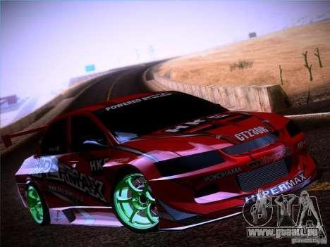 Mitsubishi Lancer Evolution 9 Hypermax für GTA San Andreas