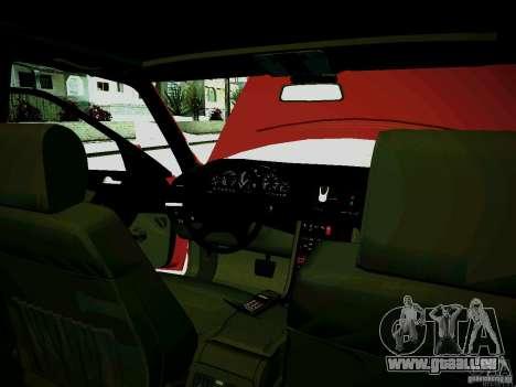 Mercedes-Benz S-Class W140 für GTA San Andreas Seitenansicht