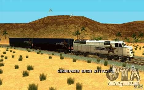 Abhängen von Wagen für GTA San Andreas