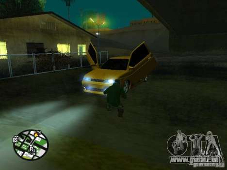 VAZ-2112-Auto Tuning für GTA San Andreas obere Ansicht