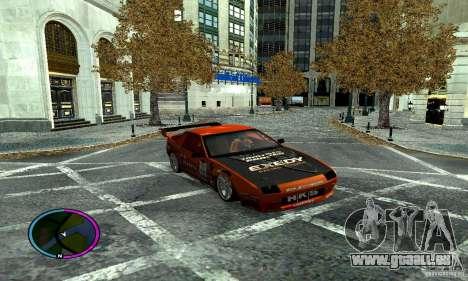 Mazda RX-7 FC for Drag pour GTA San Andreas vue de côté