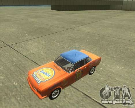 Ford Mustang 1965 für GTA San Andreas zurück linke Ansicht