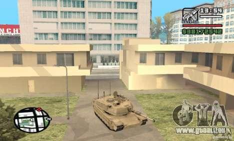 M1A2 Abrams TUSK für GTA San Andreas